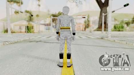 Alien Rangers - White pour GTA San Andreas troisième écran
