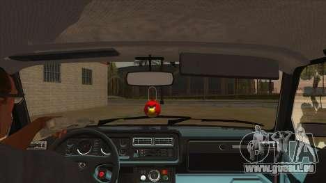VAZ 2107 RUSSLAND für GTA San Andreas Innenansicht