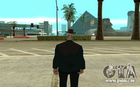 Cigogne pour GTA San Andreas deuxième écran
