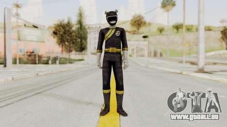Power Rangers Wild Force - Black pour GTA San Andreas deuxième écran