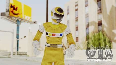 Power Rangers In Space - Yellow für GTA San Andreas
