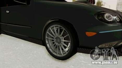 Nissan Maxima Tuning v1.0 pour GTA San Andreas vue arrière