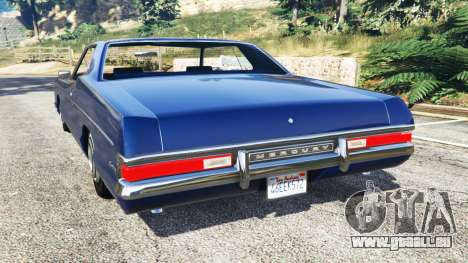 GTA 5 Mercury Monterey 1972 arrière vue latérale gauche