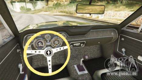 Ford Mustang 1968 für GTA 5