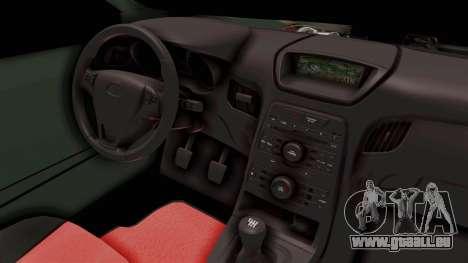 Nissan Maxima Tuning v1.0 pour GTA San Andreas vue de côté