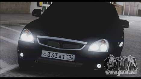Lada Priora Sedan für GTA San Andreas Motor