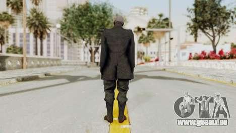 MGSV Phantom Pain SKULLFACE No Hat für GTA San Andreas dritten Screenshot