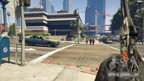 GTA 5 Python .357 Magnum CT6 dritten Screenshot