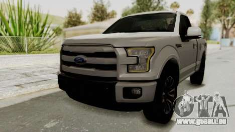 Ford Lobo XLT 2015 Single Cab pour GTA San Andreas