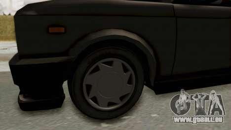 Zastava 128 für GTA San Andreas Rückansicht