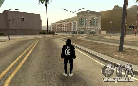 De nouveaux sans-abri v4 pour GTA San Andreas deuxième écran