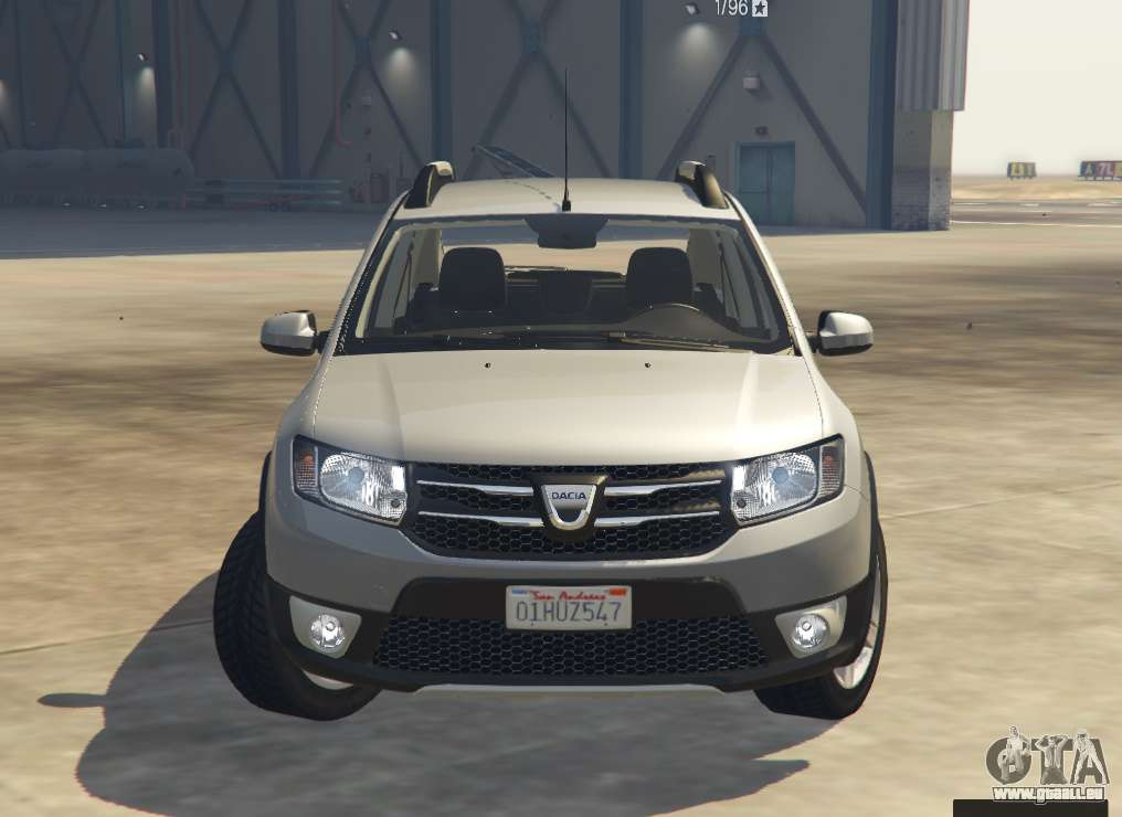 dacia sandero stepway 2014 pour gta 5. Black Bedroom Furniture Sets. Home Design Ideas