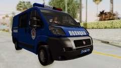 Fiat Ducato Police für GTA San Andreas