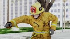GTA 5 Fireman LV