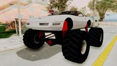 Chevrolet Corvette C4 Monster Truck