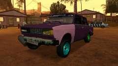 VAZ 2105 Grau für GTA San Andreas