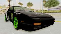 Nissan 240SX Drift Monster Energy Falken pour GTA San Andreas