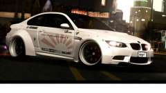BMW M3 E92 Liberté à Pied LB Performance