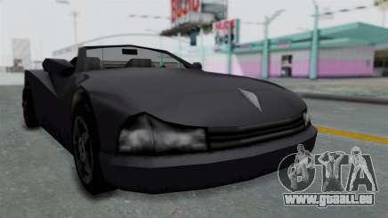 GTA 3 Cheetah Topless pour GTA San Andreas
