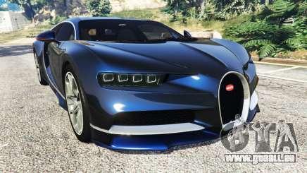 Bugatti Chiron pour GTA 5