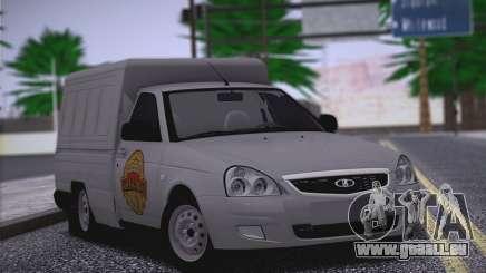 Lada Priora Stok Budka pour GTA San Andreas