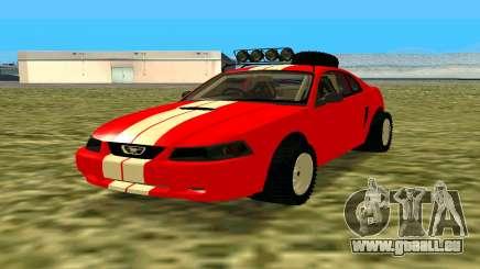 Ford Mustang 1999 für GTA San Andreas