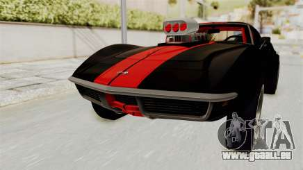 Chevrolet Corvette Stingray C3 1968 Drag für GTA San Andreas