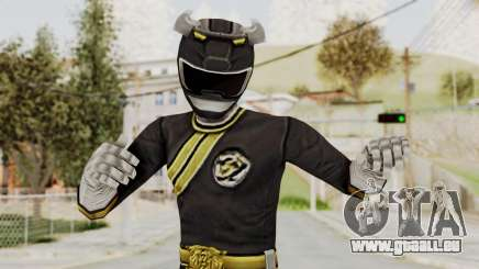 Power Rangers Wild Force - Black für GTA San Andreas