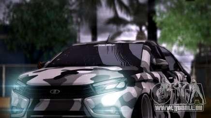 Lada Vesta Camouflage für GTA San Andreas