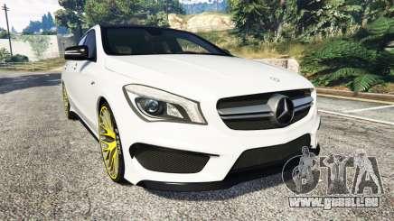 Mercedes-Benz CLA 45 AMG [HSR Wheels] pour GTA 5