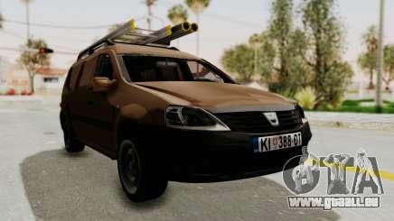 Dacia Logan MCV Van pour GTA San Andreas
