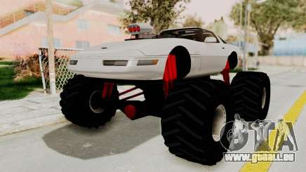 Chevrolet Corvette C4 Monster Truck pour GTA San Andreas