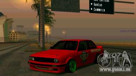 BMW E30 Drift pour GTA San Andreas