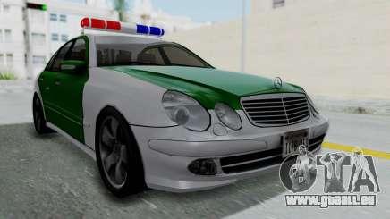 Mercedes-Benz E500 Police für GTA San Andreas