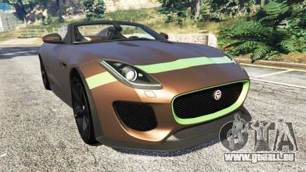 Jaguar F-Type Project 7 2016 pour GTA 5
