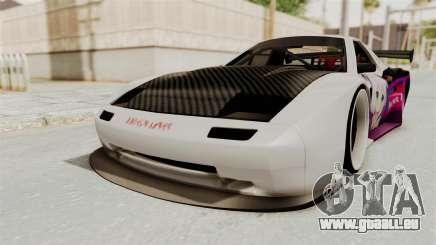 Mazda RX-7 FC Itasha pour GTA San Andreas