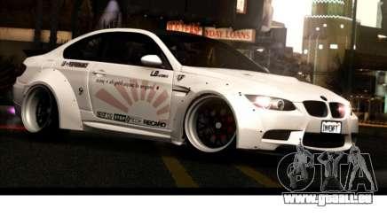 BMW M3 E92 von Liberty Walk LB Performance für GTA San Andreas