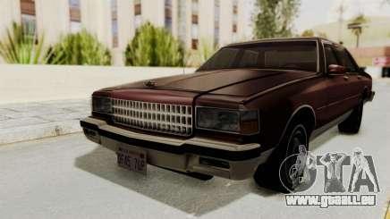 Chevrolet Caprice 1987 v1.0 pour GTA San Andreas