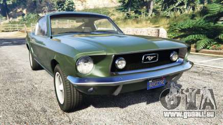 Ford Mustang 1968 pour GTA 5