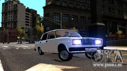 VAZ 2107 AzElow pour GTA 4