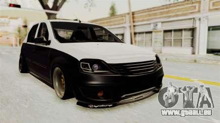 Dacia Logan Facelift Stance pour GTA San Andreas