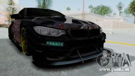 BMW M4 Kurumi Itasha für GTA San Andreas