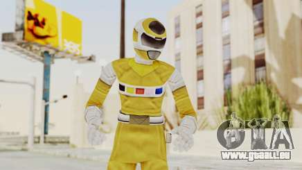 Power Rangers In Space - Yellow pour GTA San Andreas