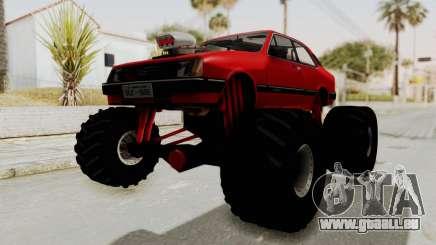 Chevrolet Chevette SL 1988 Monster Truck für GTA San Andreas