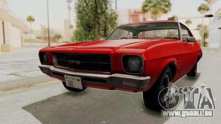 Holden Monaro GTS 1971 SA Plate HQLM pour GTA San Andreas
