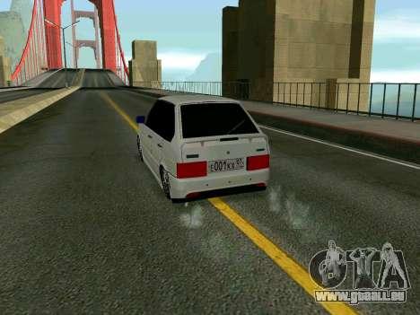 VAZ 2114 KBR für GTA San Andreas rechten Ansicht