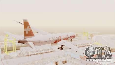 Boeing 777-300ER Faces of SWISS Livery für GTA San Andreas rechten Ansicht