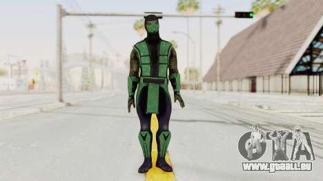 Mortal Kombat X Klassic Reptile pour GTA San Andreas deuxième écran
