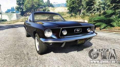 Ford Mustang 1968 v1.1 für GTA 5