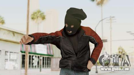 GTA 5 DLC Heist Robber für GTA San Andreas